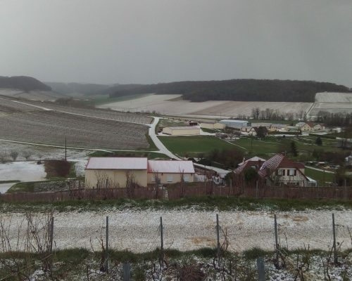 Région sous la neige