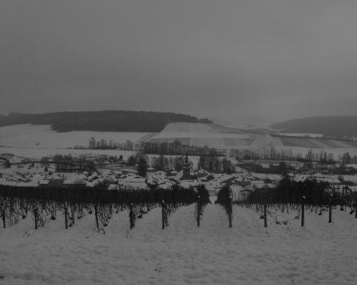 Région en hiver
