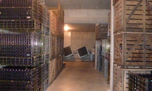 Notre cave de stockage
