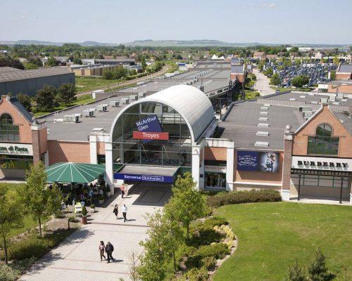 Magasins d'usines à Troyes